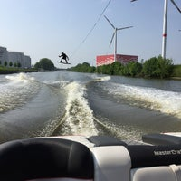 Photo taken at Kanaal Roeselare - Ooigem by Alexander V. on 5/9/2018
