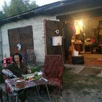 Photo taken at в гараже смирновых by Светлана Б. on 8/30/2013