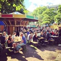 Photo taken at Moreelsepark by Edgar V. on 8/5/2016