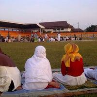 Photo taken at Stadion Krida Rembang by Andhianty N. on 8/7/2013