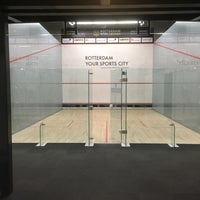 Photo taken at Squashcentrum Victoria by Clarence T. on 3/2/2017