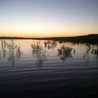 Photo taken at Lake Amistad by James B. on 11/2/2013
