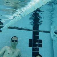 Photo taken at Canada Games Aquatic Centre by Mehmet on 10/14/2013
