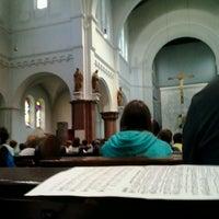 Photo taken at herz-jesu kirche by Konstantin M. on 7/4/2013