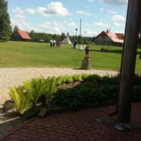Photo taken at Viesu nams Kunči by Mārtiņš Z. on 6/27/2015