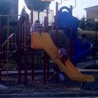 Photo taken at Çocuk Oyun Parkı by Tülay E. on 8/28/2014