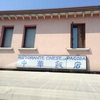 Photo taken at Ristorante Cinese La Pagoda by Aey 0. on 4/15/2013