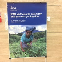 Photo taken at IFAD by Roxanna S. on 4/10/2013