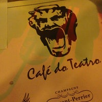 Photo taken at Café do Teatro by Job A. on 8/17/2013