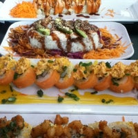 Photo taken at Sushi Factory by Luna S. on 7/28/2013