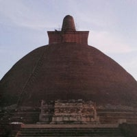 Photo taken at Jetavana Stupa by Sandun R. on 9/23/2016