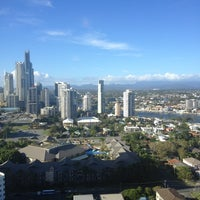 Photo taken at Surfers Paradise Marriott Resort & Spa by Denis on 2/13/2013