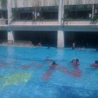 Photo taken at Nirmala Swimming Pool by Angga A. on 8/25/2013