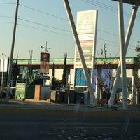 Photo taken at gasolinera 10943 by Alejandra L. on 2/7/2017