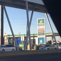 Photo taken at gasolinera 10943 by Alejandra L. on 1/10/2017