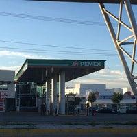 Photo taken at gasolinera 10943 by Alejandra L. on 9/20/2016