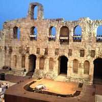 Photo taken at Herod Atticus Odeon by Mina M. on 7/15/2013