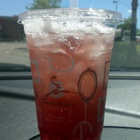 Photo taken at Caribou Coffee by Jessica S. on 6/27/2013