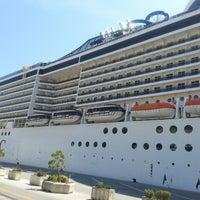 Photo taken at Dubrovnik Port by Üsame A. on 6/27/2013