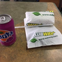 Photo taken at Subway by Lo C. on 2/28/2015