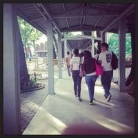 Photo taken at Xavier University - Main Lane by Jhay M. on 7/12/2013