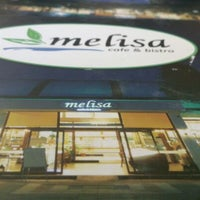 Photo taken at Melisa Cafe & Bistro by Sinem on 8/15/2013