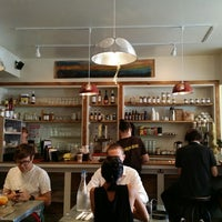 Photo taken at BeeHive Oven Biscuit Café by Joshua S. on 8/2/2014