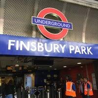 Photo taken at Finsbury Park London Underground Station by Jonathan L. on 9/16/2017