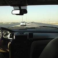 Photo taken at Abqaiq Highway by Heba M. on 6/19/2013