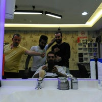 Photo taken at Salon Barber's by Cenk O. on 10/9/2015