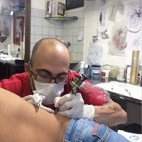 Photo taken at Graças Tattoo by Lucas E. on 4/17/2015