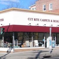 Photo taken at Cut Rite Carpets & Design Center by Ron C. on 6/17/2013