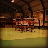 Photo taken at Volley Richa Michelbeke by Maarten A. on 11/9/2014
