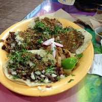 Photo taken at Taqueria Los Coyotes by Roman G. on 2/16/2013