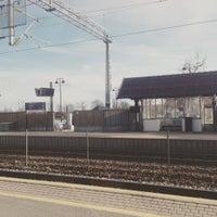 Photo taken at Rygge stasjon by Black Owl on 4/25/2016