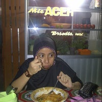 Photo taken at Mie Aceh Zahra by heru f. on 2/27/2014