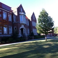 Photo taken at Hendrix College by C.C. M. on 10/9/2012