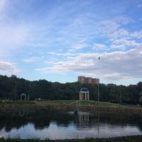 Photo taken at Большой пруд by Anastasia M. on 6/14/2014