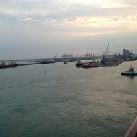 Photo taken at Porto di Livorno by Neal R. on 7/19/2013