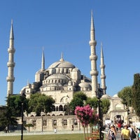 Photo taken at Blue Mosque by Neal R. on 7/24/2013