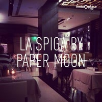 Photo taken at La Spiga by Paper Moon by Can B. on 12/13/2013