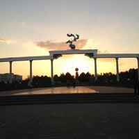 Photo taken at Площадь Независимости | Mustaqillik Maydoni by Angelina S. on 8/8/2013