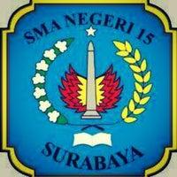 Photo taken at SMA Negeri 15 Surabaya by Maulina Dwi P. on 7/7/2013