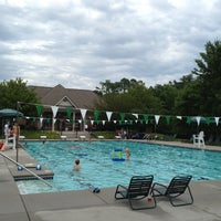 Photo taken at Whittington Creek Pool and Clubhouse by Mo M. on 6/28/2013