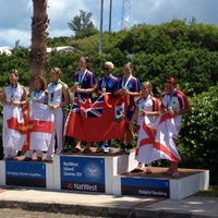 Photo taken at Bermuda National Sports Centre by Mo M. on 7/14/2013