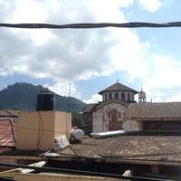 Photo taken at Cherán by CARLOS ROBERTO B. on 9/7/2014