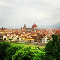 Photo taken at Piazzale Michelangelo by Carlos V. on 6/2/2013