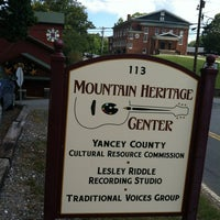 Photo taken at Mountain Heritage Center by Mary S. on 10/1/2013