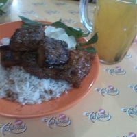 Photo taken at Nasi Uduk Cak Bejo by Marta c. on 10/2/2013
