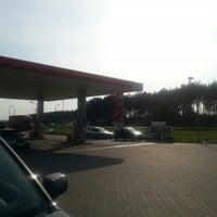 Photo taken at Orlen by Wiktor D. on 4/18/2014